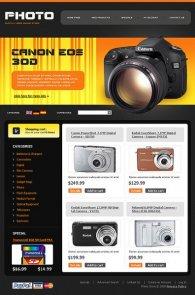 Negozio virtuale elettronica - macchine fotografiche